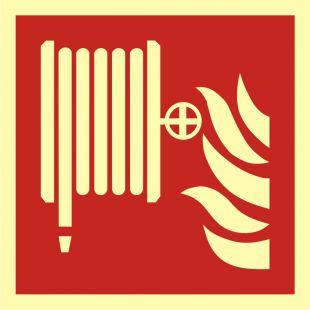 Hydrant wewnętrzny - znak przeciwpożarowy ppoż - BAF002