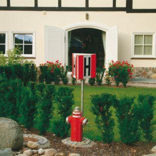Hydrant zewnętrzny przestrzenny 3D - mały 25 x 25 cm