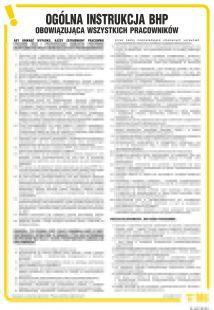 IAA01 - Instrukcja ogólna BHP obowiązująca wszystkich pracowników