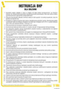 IAA06 - Instrukcja BHP dla odlewni