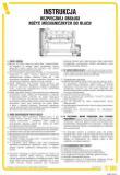IAB02 - Instrukcja bezpiecznej obsługi nożyc mechanicznych do blach - Instrukcje BHP