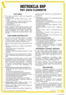 IAC03 - Instrukcja BHP przy cięciu plazmowym