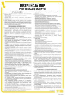 IAC07 - Instrukcja BHP przy spawaniu gazowym