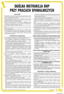 IAC09 - Ogólna instrukcja BHP przy pracach spawalniczych