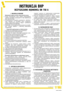 IAD01 - Instrukcja BHP dla oczyszczarki bębnowej OB 750A