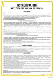 IAF10 - Instrukcja BHP przy obsłudze suszarni do drewna