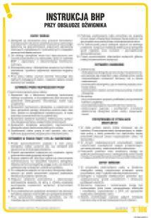 IAG02 - Instrukcja BHP obsługi dźwignika