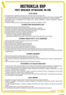 IAI02 - Instrukcja BHP przy obsłudze wyważarki do kół