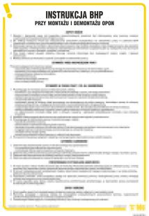 IAI04 - Instrukcja BHP przy montażu i demontażu opon