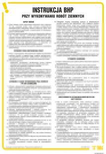 IAJ08 - Instrukcja BHP przy wykonywaniu robót ziemnych