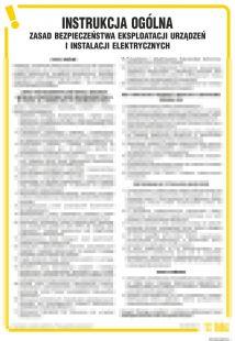 IAK06 - Instrukcja BHP zasad bezpieczeństwa eksploatacji urządzeń i instalacji elektrycznych