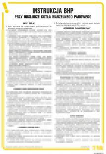 IAO09 - Instrukcja BHP przy obsłudze kotła warzelnego parowego