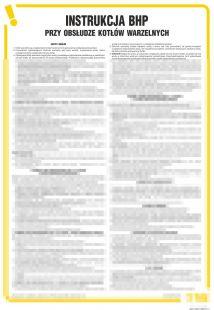 IAO10 - Instrukcja BHP przy obsłudze kotłów warzelnych