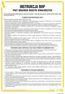 IAQ02 - Instrukcja BHP przy obsłudze maszyn szwalniczych