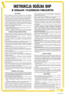 IAS01 - Instrukcja BHP ogólna BHP w szkołach i placówkach publicznych