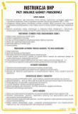 IAT07 - Instrukcja BHP przy obsłudze gaśnicy proszkowej - Koce gaśnicze