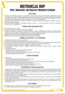 IAT11 - Instrukcja BHP przy obsłudze zszywacza pneumatycznego