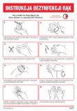 Ilustrowana instrukcja dezynfekcji rąk - skrócona - IAT15b - BHP a koronawirus