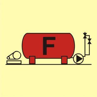 Instalacja pianowa - znak morski - FA012