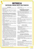 Instrukcja bezpiecznej obsługi nożyc gilotynowych - IAB11 - Instrukcje BHP