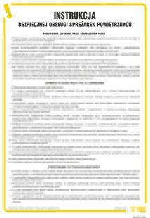 Instrukcja bezpiecznej obsługi sprężarek powietrznych - IAM01