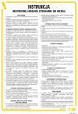 Instrukcja  bezpiecznej obsługi strugarki do metali - IAB16 - Szkolenie okresowe BHP – co warto wiedzieć?