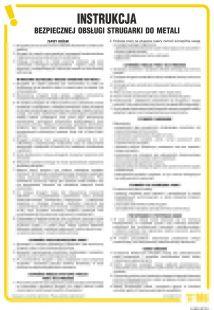 Instrukcja  bezpiecznej obsługi strugarki do metali - IAB16