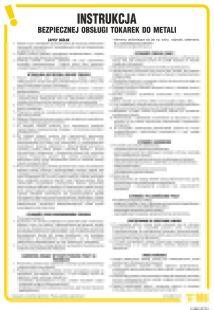 Instrukcja bezpiecznej obsługi tokarek do metali - IAB04