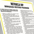 Instrukcja BHP czyszczenia, mycia i dezynfekcji metalowych opakowań zwrotnych - IAO52