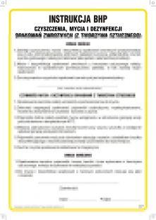 Instrukcja BHP czyszczenia, mycia i dezynfekcji opakowań zwrotnych(z tworzyw sztucznych) - IAO48