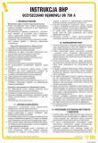 Instrukcja BHP dla oczyszczarki bębnowej OB 750A - IAD01 - BHP – kontrole stanu bezpieczeństwa, instrukcje bezpieczeństwa