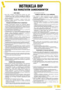 Instrukcja BHP dla warsztatów samochodowych - IAI05