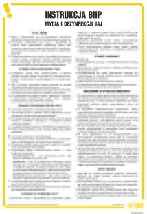 Instrukcja BHP mycia i dezynfekcji jaj - IAO37