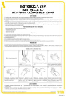 Instrukcja BHP mycia i odkażania rąk w szpitalach i placówkach służby zdrowia - IAX10