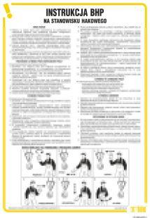Instrukcja BHP na stanowisku hakowego - IAG08