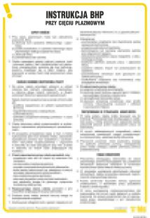 Instrukcja BHP przy cięciu plazmowym - IAC03