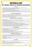 Instrukcja BHP przy obsłudze agregatu do tynkowania mechanicznego - IAJ01 - Kto odpowiada za stan BHP w zakładzie pracy? Obowiązki pracodawcy i pracownika w zakresie BHP