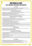 Instrukcja BHP przy obsłudze niszczarki  dokumentów - IAR03 - Jak powinno wyglądać szkolenie wstępne BHP?