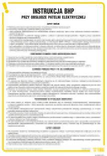 Instrukcja BHP przy obsłudze patelni elektrycznej - IAO02