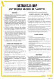 Instrukcja BHP przy obsłudze szlifierki do płaszczyzn - IAB10 - Instrukcje BHP