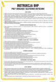 Instrukcja BHP przy obsłudze szlifierko-ostrzarki - IAF15 - Jakie są rodzaje instrukcji BHP?