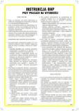 Instrukcja BHP przy pracach na wysokości - IAA10 - Instrukcje BHP