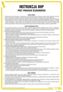 Instrukcja BHP przy pracach ślusarskich - IAB15