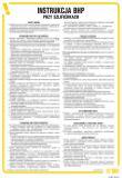 Instrukcja BHP przy szlifierkach - IAB01 - Instrukcje BHP