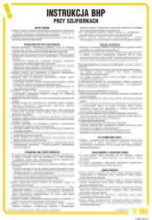 Instrukcja BHP przy szlifierkach - IAB01