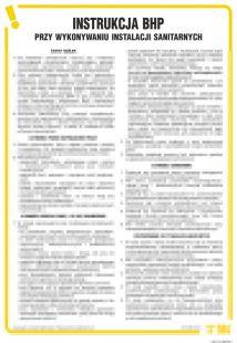Instrukcja BHP przy wykonywaniu instalacji sanitarnych - IAJ11