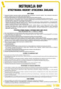 Instrukcja BHP utrzymania higieny otoczenia zakładu - IAO42