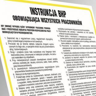 Instrukcja BHP w sprawie zasad płetwonurkowania - IAO61