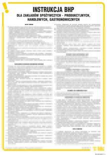 Instrukcja BHP w zakładach spożywczych - IAO30