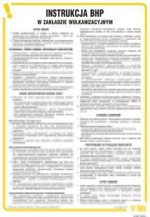 Instrukcja BHP w zakładzie wulkanizacyjnym - IAE07